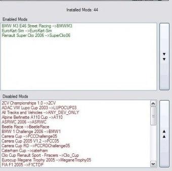 rfactor mods install