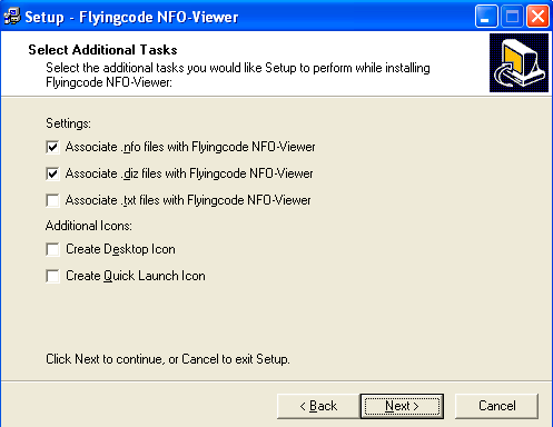 Flyingcode NFO-Viewer Download (nfoviewer exe)