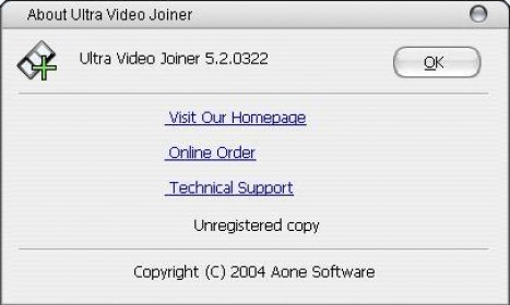 Ultra Video Joiner 5.2 Download (Free trial) - Ultra Video Joiner.exe Version Details