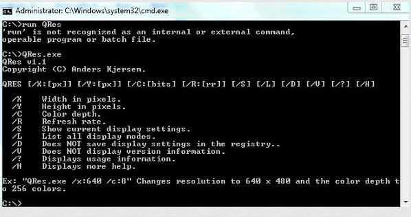 qres.exe windows 7