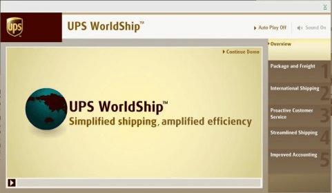 UPS WorldShip 12 0 Download (Free trial) - WorldShipTD exe