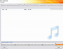 Create audio CD window