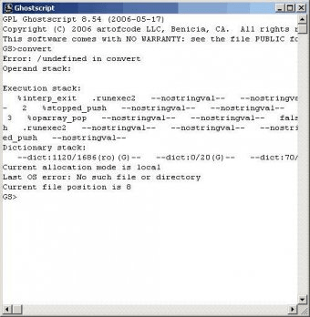 GNU Ghostscript Download - Ghostscript was originally