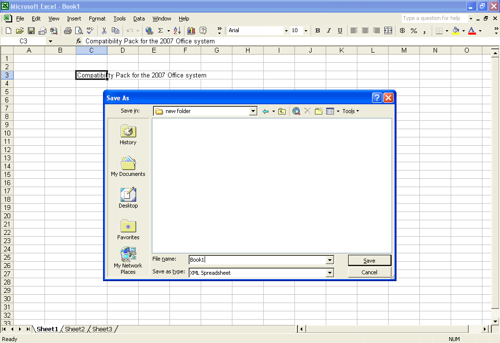 Compatibility Pack for the 2007 Office system