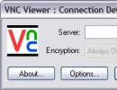 VNC Viewer - connection details