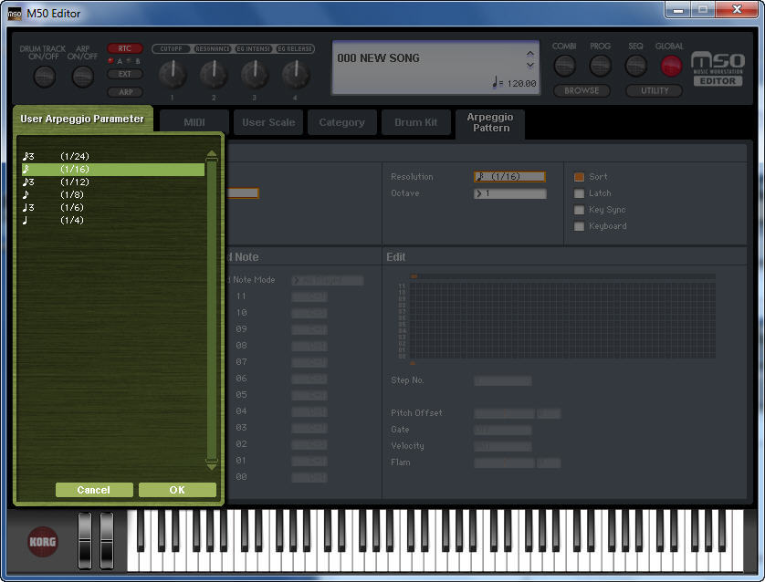 KORG M50 Editor  Get the software safe and easy