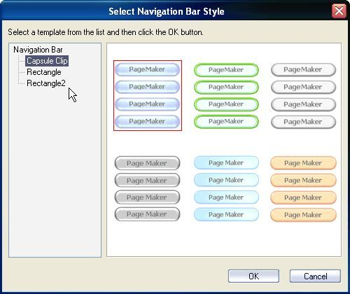 Button Style Selection