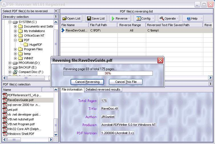 PDF Reverser Download - Powerful tool to extract images and