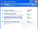"""Picture of """"1Click Maintenance"""" doing it's job"""