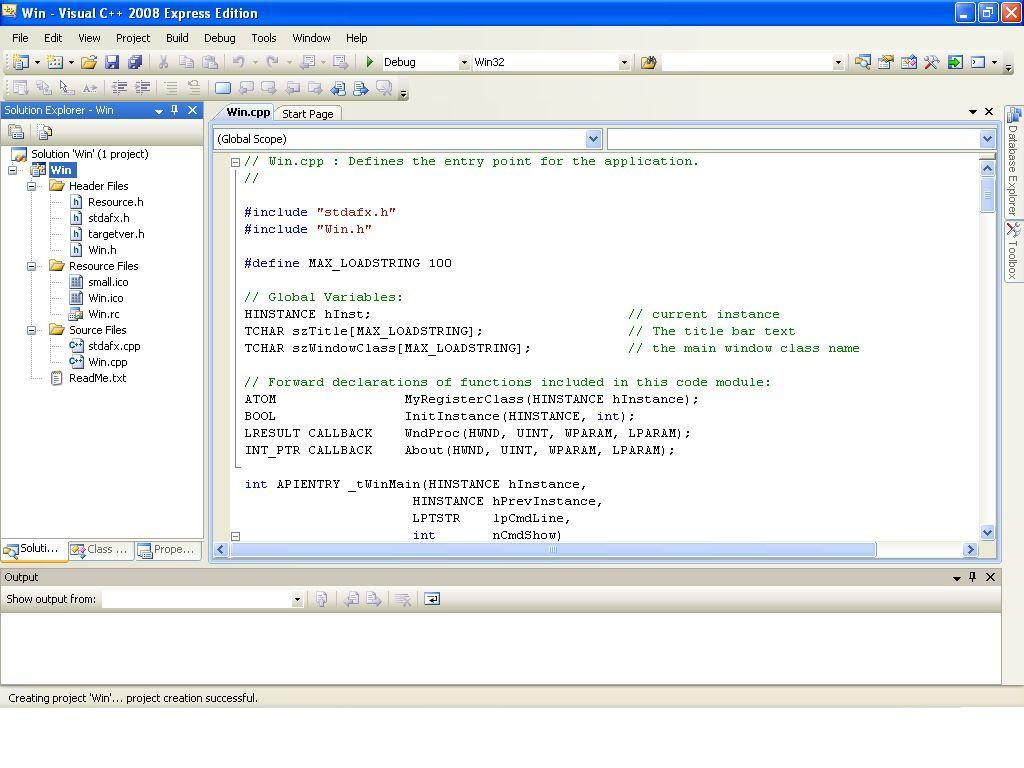 Project - windows application