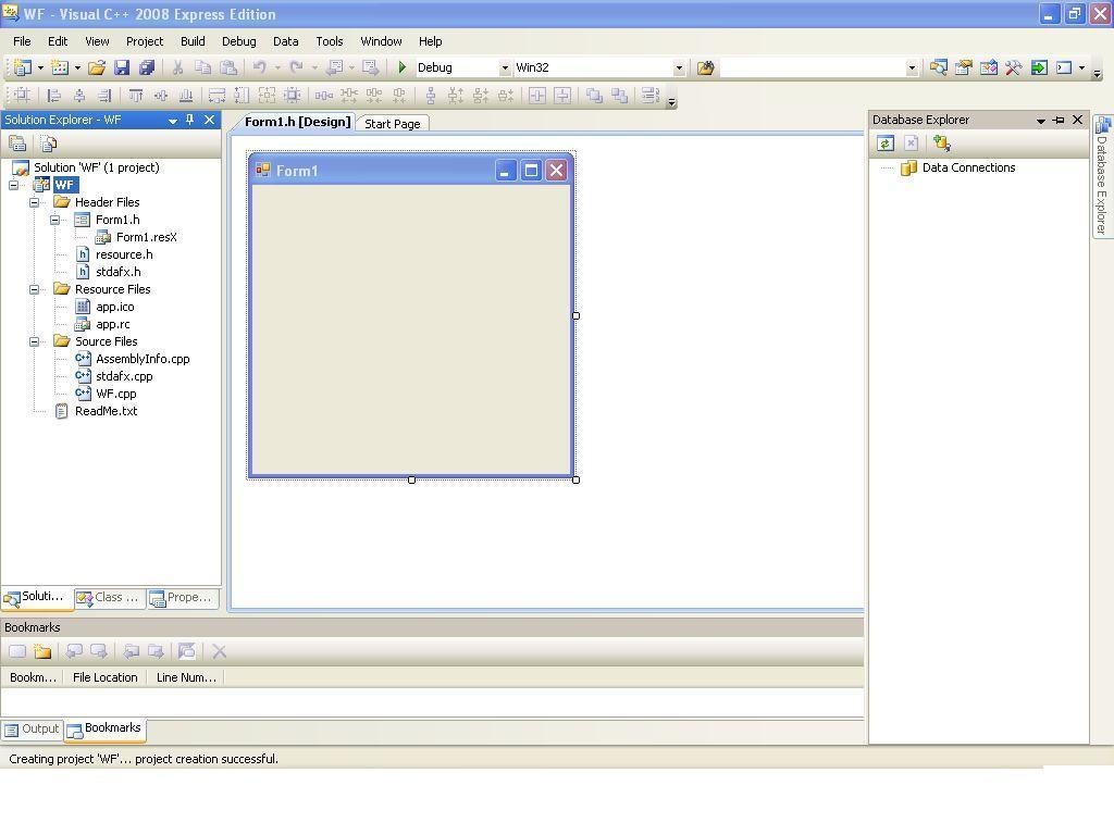 Windows form application