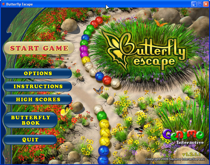 Butterfly escape free download.