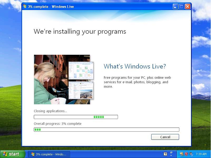 Installing Windows Live Photo Gallery