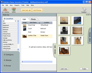 Quicken Home Inventory Manager Download Free Version (billmind.exe)