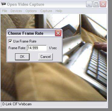 Select Frame Rate