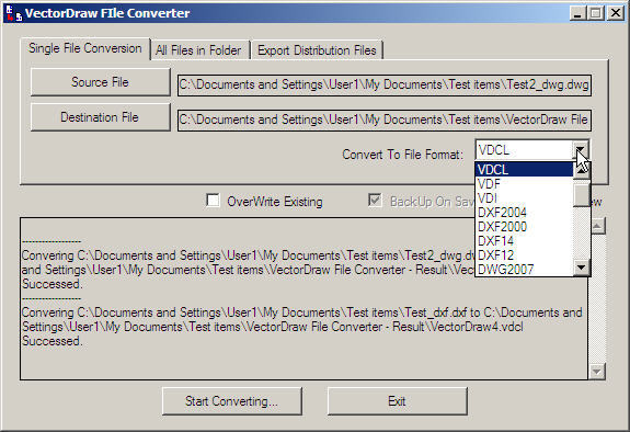 VectorDraw File Converter  Get the software safe and easy