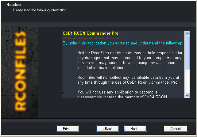 COD2 RCON Commander Pro Download - This is the last and