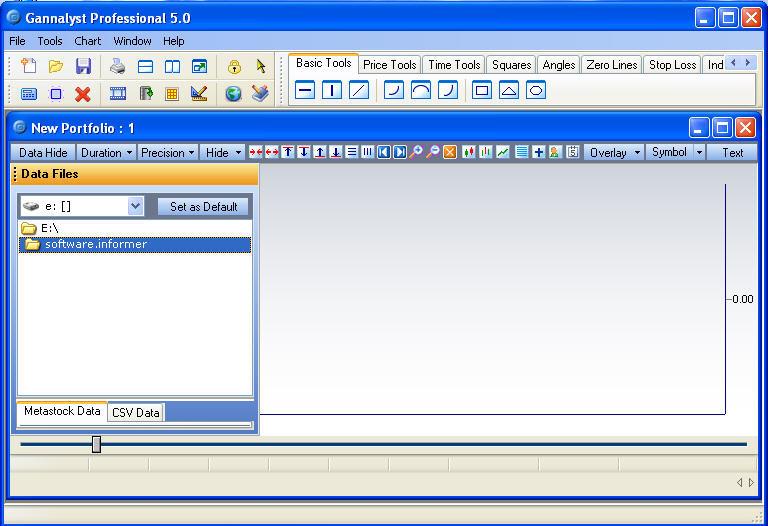 Gannalyst Professional 5 0 Download (Free) - GannalystPro30 exe