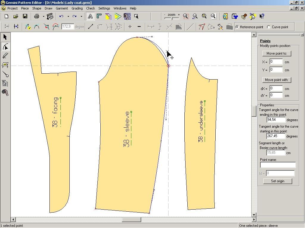 Gemini costume design course