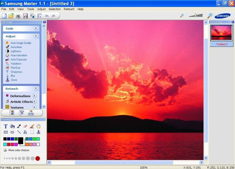 Image Editor Window