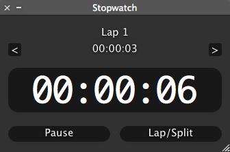 New stopwatch
