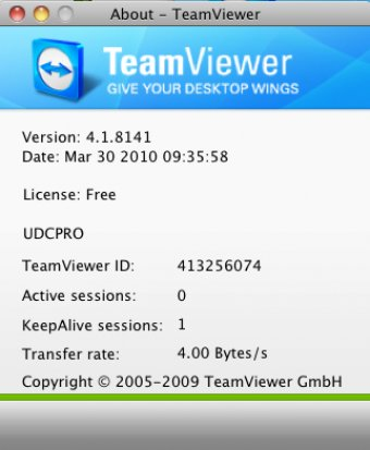 Download free TeamViewer 4 1 for macOS