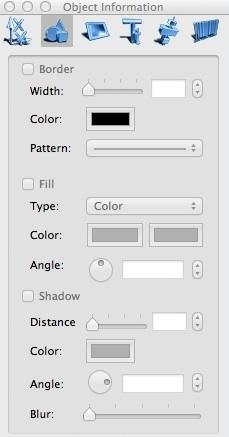 Object Information Window