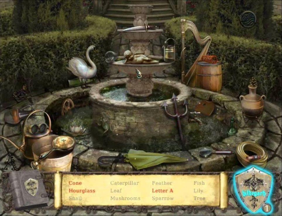 Exploring the Hildegards garden
