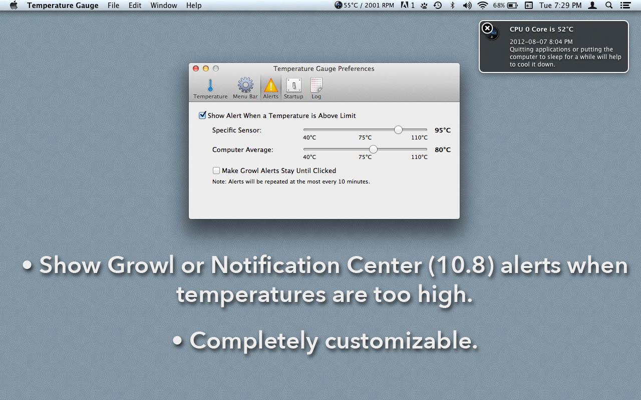 Temperature Gauge For Mac