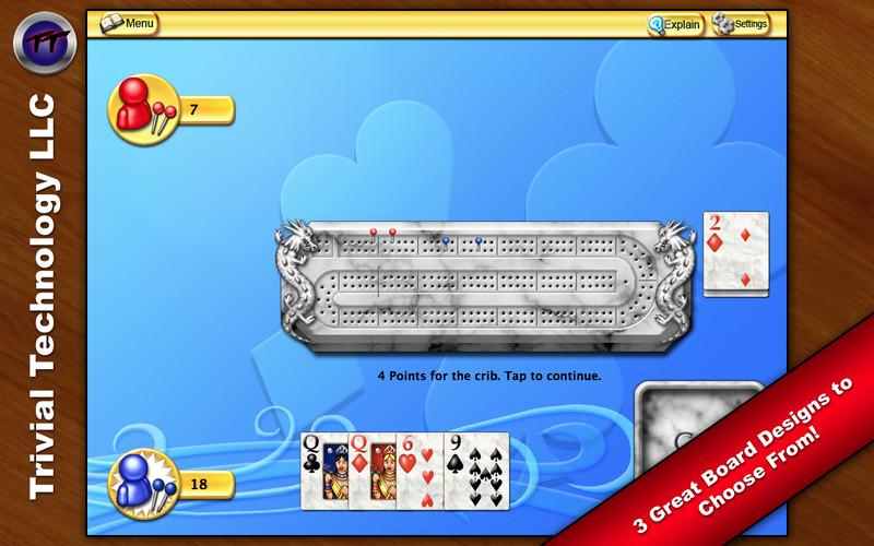 Cribbage screenshot