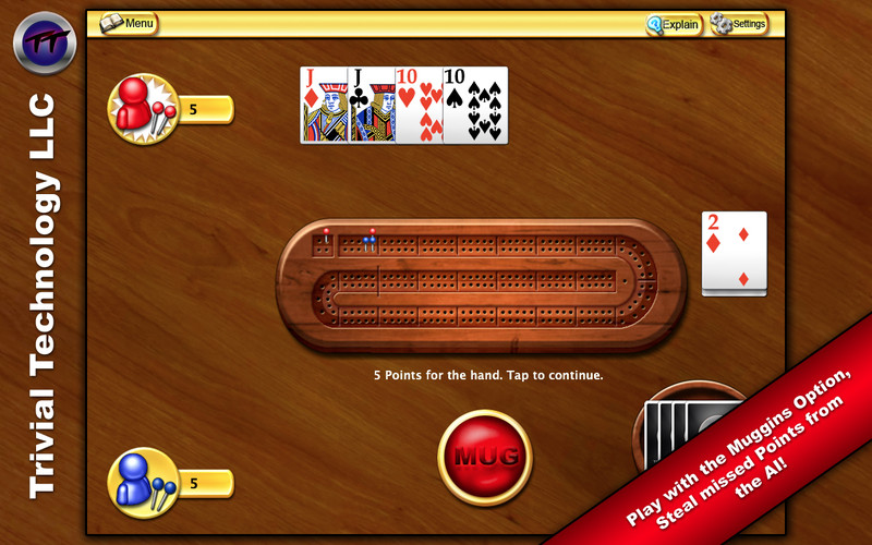Cribbage screenshot