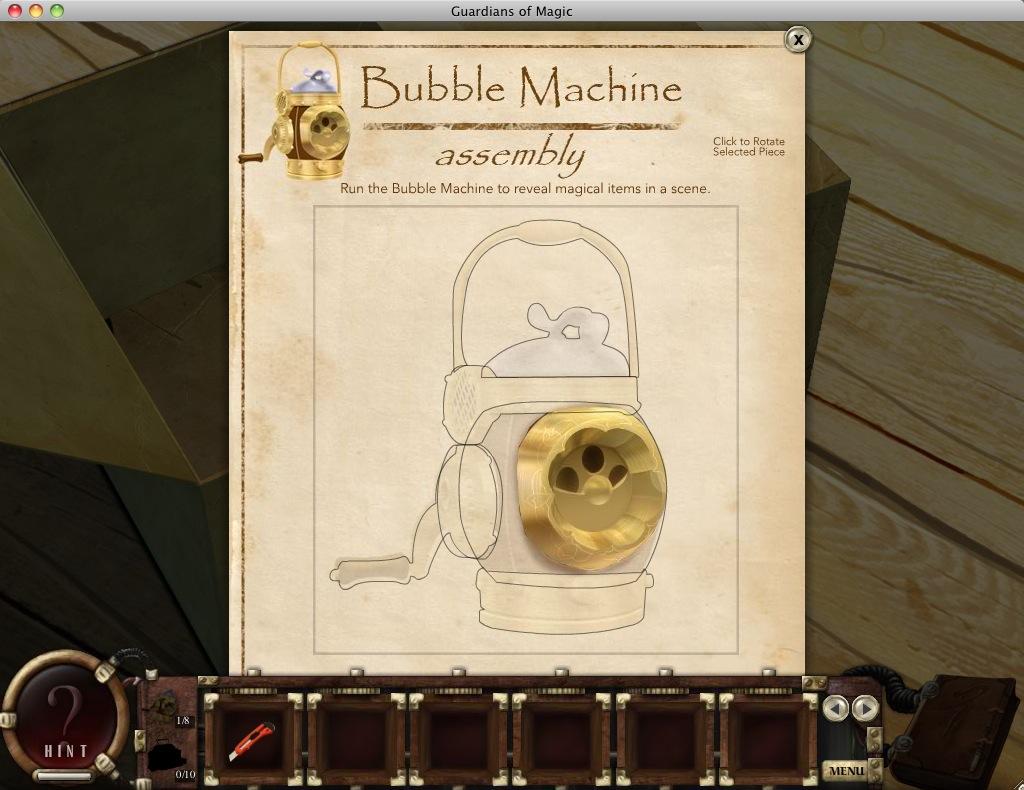 Assemble machine