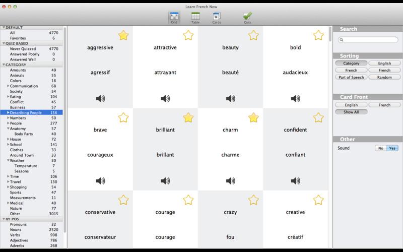 Learn French screenshot