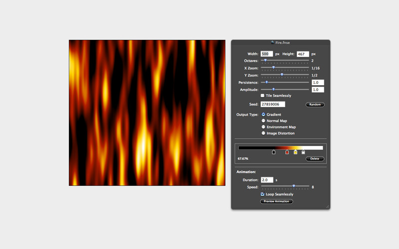 Fluid Noise Generator screenshot