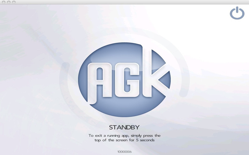 AGK Player screenshot