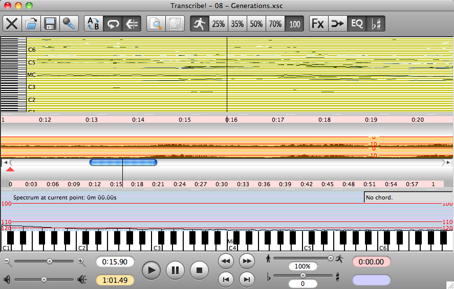 Audio file loaded and transcribed
