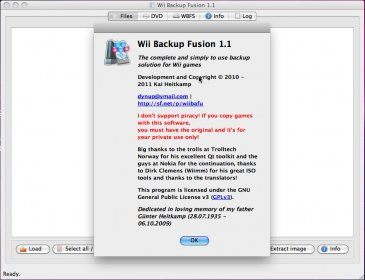 Download free Wii Backup Fusion for macOS