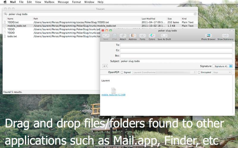 Toucan Search screenshot