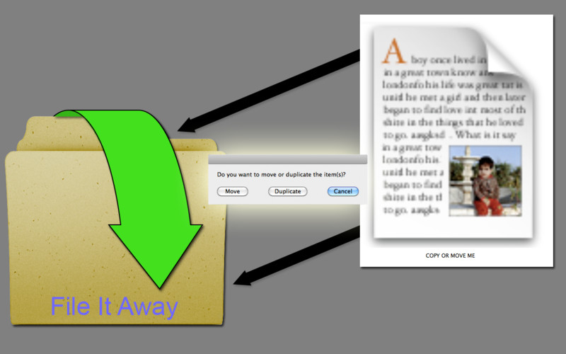 File It Away screenshot