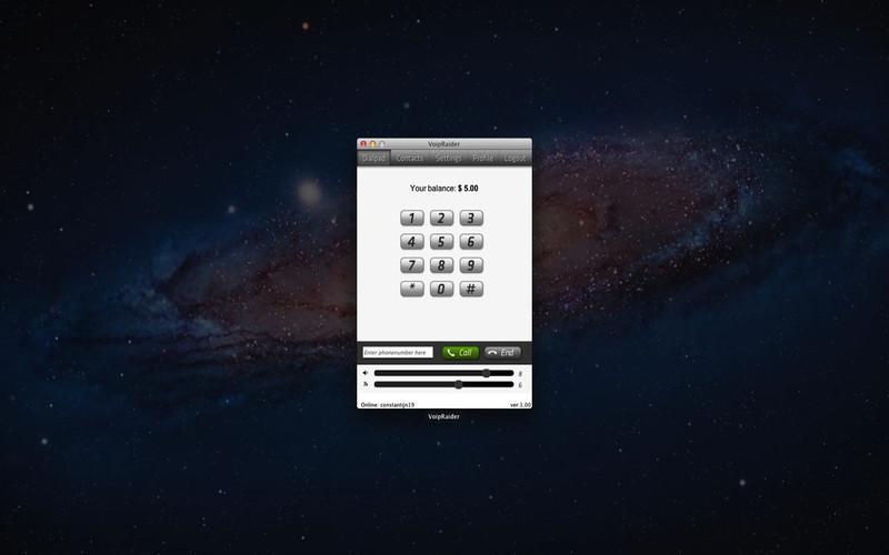 VoipRaider screenshot