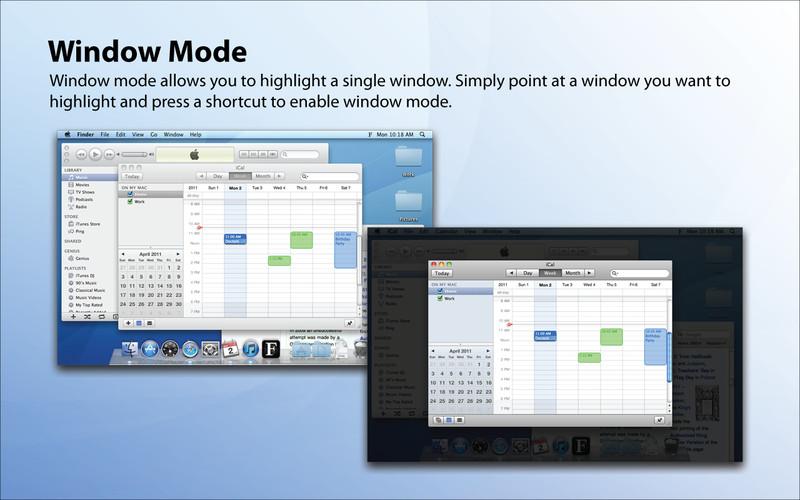 FocusMask screenshot