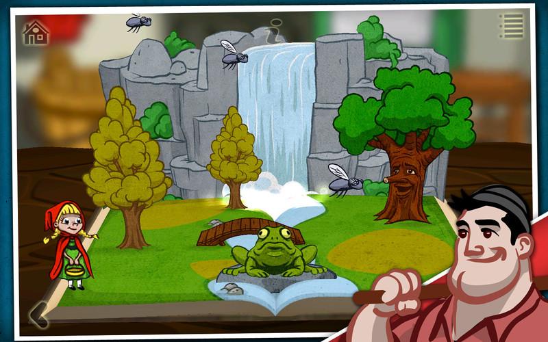 Grimm's Red Riding Hood ~ 3D Interactive Pop-up Book screenshot