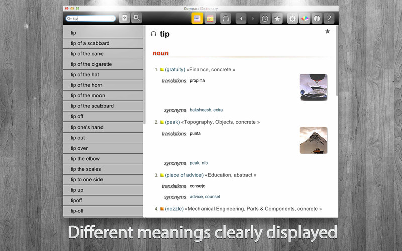 Compact Dictionary screenshot