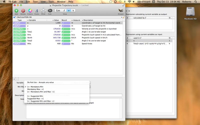 TS Calc screenshot