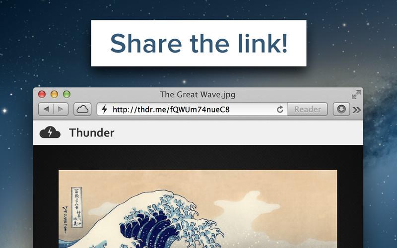 Thunder screenshot