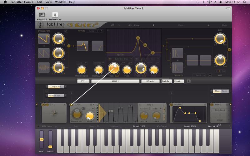 FabFilter Twin 2 screenshot