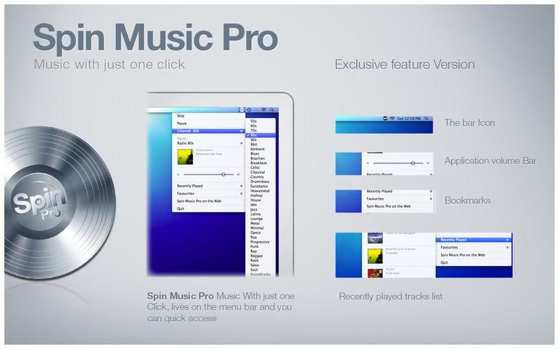 Spin Music Pro screenshot
