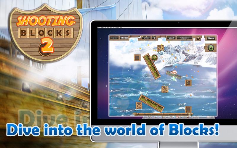 Shooting Blocks 2 screenshot