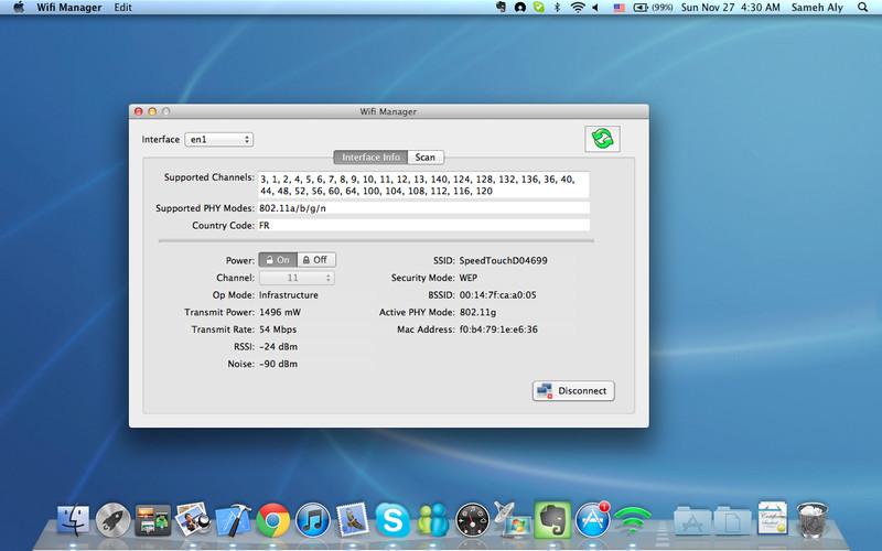 Wifi Manager screenshot