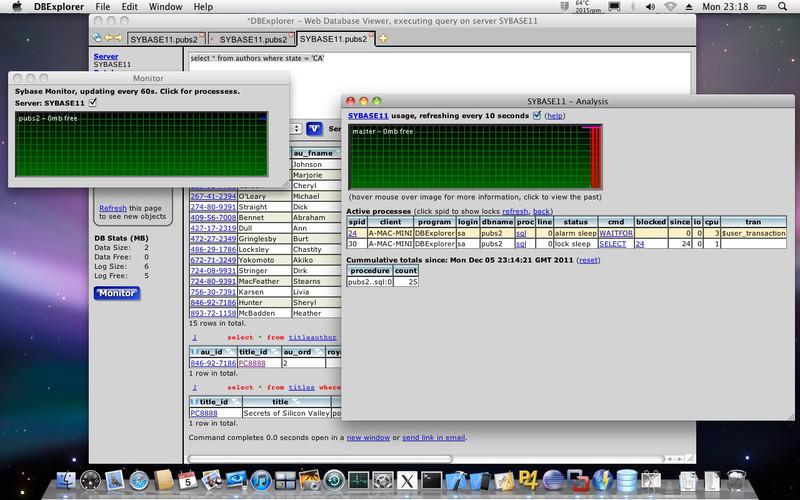 DBExplorer screenshot